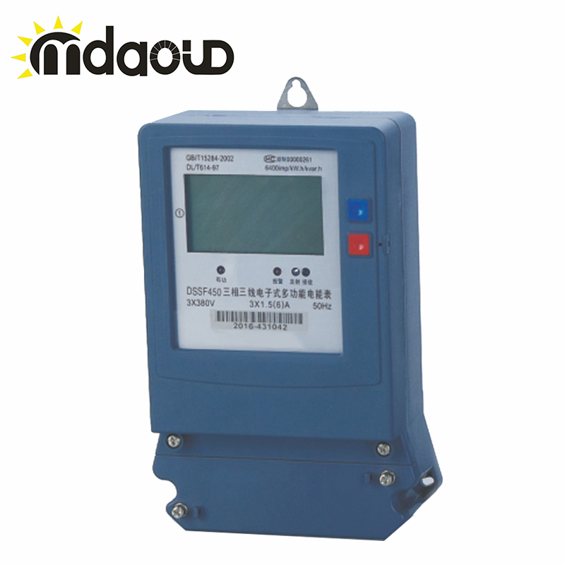 цена 3x380V 1.5(6)A-30(100)A 50Hz Three-phase electronic multi-tariff watt-hour meters
