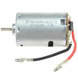 Image 4 - RC รถอะไหล่ 540 มอเตอร์ 12428 0121 7.4V 540 มอเตอร์สำหรับ Wltoys 12428 12423 เครื่องจักรไฟฟ้า
