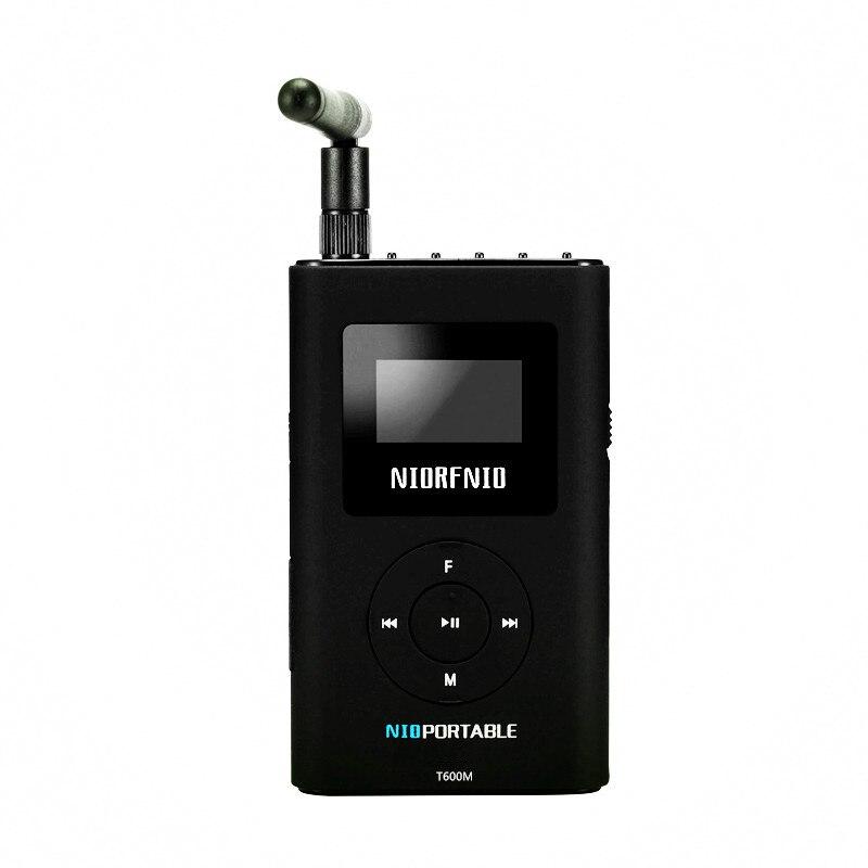 Wholesale New Design NIO T600M 0.6W Small Power FM Radio Transmitter Equipment for Radio Station
