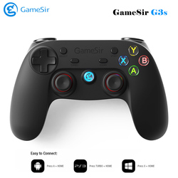 GameSir G3s Bluetooth Wireless Gaming Controller Gamepad for PC Android Phone Windows PS3 Samsung Tablet Gear VR Game Joystick