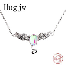 New arrival 925 sterling silver demon women necklace in pendant necklace devil chain with CZ diy silver fashion jewelry gifts hot sale sterling silver 925 palm devil s eyes necklace in jewelry pendant necklace dangle with cz chain necklace for women