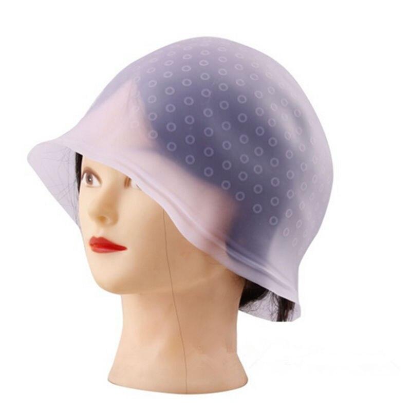 1 pcs rutilisable cheveux coloration mise en vidence dye cap avec glaage tipping couleur styling outils - Coloration Rutilisable
