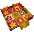 Decoração interior Mat Padrão dígitos Esteira do Enigma Enigma Eva Material de Espuma Esteira do jogo Para O Uso Infantil Kid Jigsaw Chão Tapete De Sala com cerca