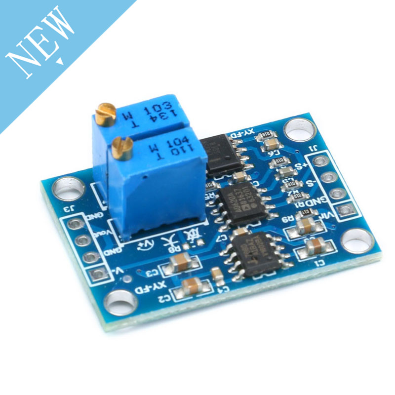 AD620 AC DC Voltage Amplifier Signal Instrumentation Module Board 3-12VDC  Instrumental Amplifier New Arrival