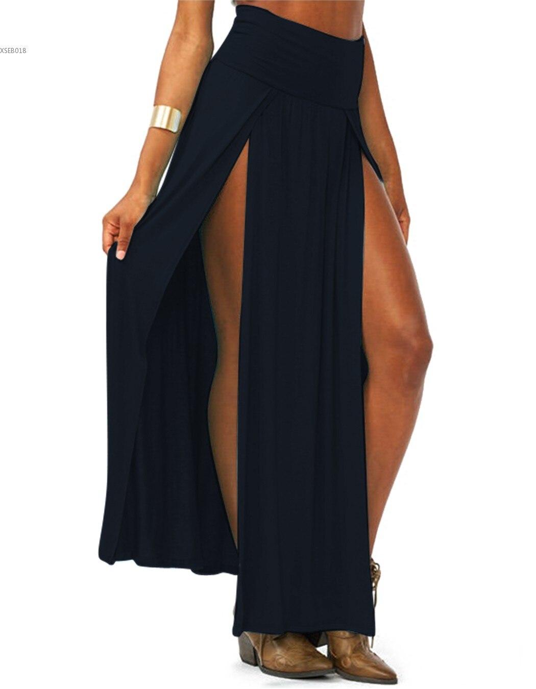 Сексуальная длинная юбка