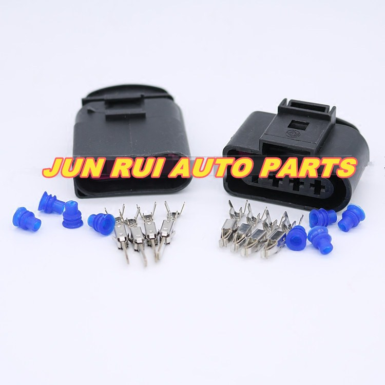 10pcs/lot CAR Ignition Coil 4 Pin/Way Male Female