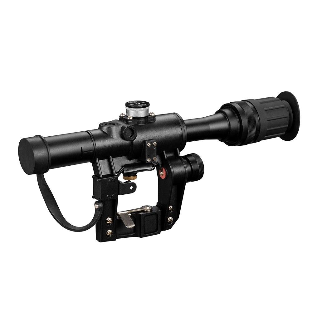 Feu loup 4x24 PSO Type lunette de visée SVD Sniper fusil série AK fusil portée pour chasse vue - 3