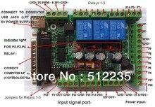 Интерфейсная плата MACH3 плата DIY чпу 6-axis прорыв плата шим шпинделя