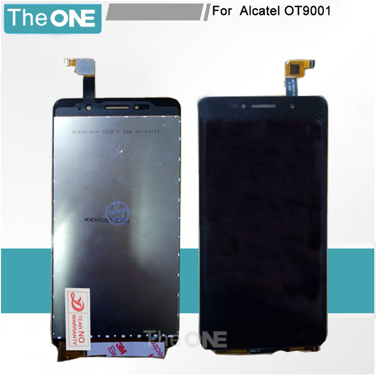 For Alcatel 9001 9001x 9001a 9001d LCD Display Touch Screen Digitizer Assembly Parts Replacement for alcatel 9001 hd Display