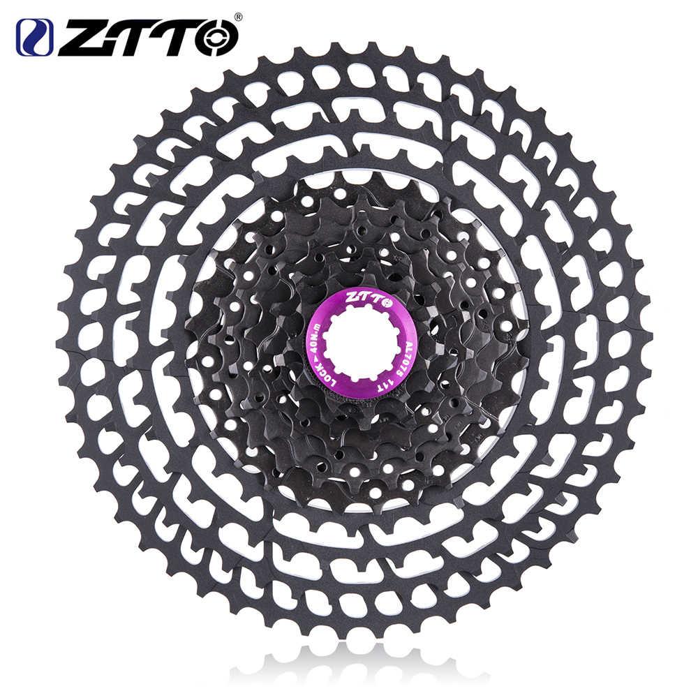 ZTTO متب 11 سرعة 50T SLR كاسيت 11-50T 11s نسبة واسعة خفيفة 360g نك الحرة عجلة دراجة هوائية جبلية دراجة أجزاء ل X 1 9000