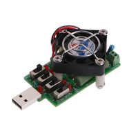 2018 Adjustable 15 Current USB Load Resistor Discharge Resistance Capacity Tester SEP19_20