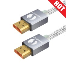 HDMI Cable HDMI 2.0 Cable for IPTV LCD HDMI xbox 360 PS3 4 pro Set-top Box Nintendo Switch Projector 1M 2M 3M 5M Cable HDMI laser ribbon flat cable for xbox 360 white blue