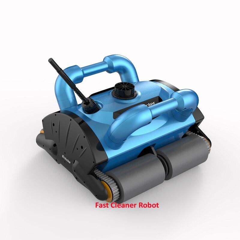 Parete di Arrampicata Funzione e di Controllo Remoto Automatico Robot Pulitore Piscina Aggiornato ICleaner-200 Senza Caddy Carrello