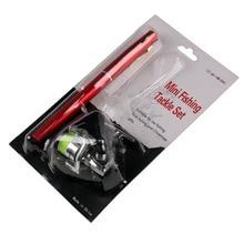 EMMROD 1 meter new pen fishing rod with XM100 mini metal spinning wheel H4 Free Shipping