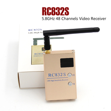 цена на FPV 5.8G 5.8GHz 48 Channels RC832S Video Receiver With A/V and Power Cables Function Same As RC832 RC832H For FPV Racing Drone