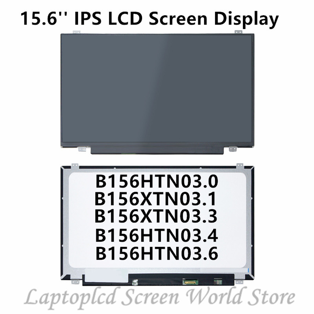 FTDLCD 15.6 ''IPS Panneau D'affichage LCD Pour B156HTN03.0 B156HTN03.1 B156HTN03.3 B156HTN03.4 B156HTN03.6 B156XW04 V.8