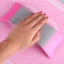 Pleasant Nail Art Pillow Hand Holder Cushion Plastic Silicone Cushion Nail Arm Rest Manicure Accessories Tool