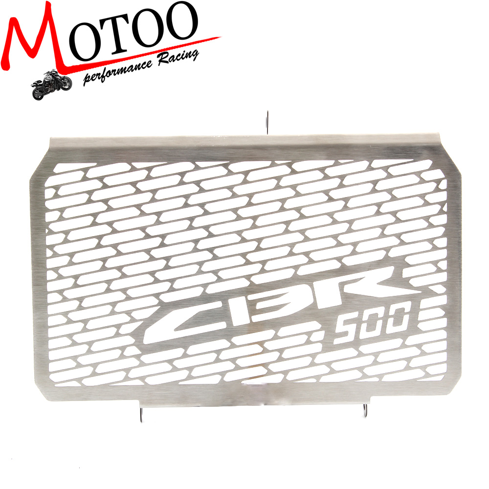 Motoo - Radiator Grille Grill Cover Protector Guard For HONDA CBR500 2013-2014 motorcycle radiator grille protective cover grill guard protector for 2013 2014 2015 2016 honda cbr600rr cbr 600 rr
