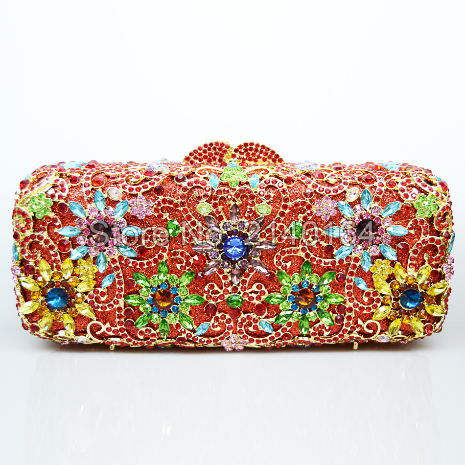 rhinestones evening bags Crystal Evening Bag  Wedding Party Purse Packet Banquet Clutch Female Wedding Purses And Handbags 88271 luxury crystal clutch handbag women evening bag wedding party purses banquet