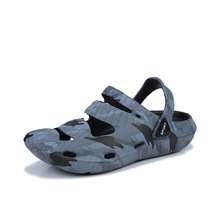 цена на 2019 New Male Shoes EVA Men Sandals Summer Beach Slippers Man Fashion Outdoor Casual Sneakers Flip Flops Men Size 36-45