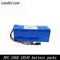 36V 10ah electric bicycle battery pack 18650 Li Ion Battery 500W High Power and Capacity 42V Motorcycle Scooter+BMS