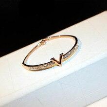 S31 письмо известный бренд бразильские Браслеты pulseiras acessorios para mulher ювелирные браслеты и браслеты новинка для женщин