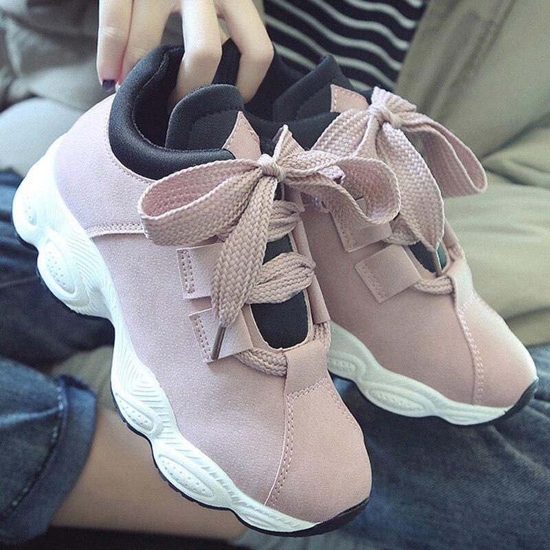 2019 Spring Platform Sneakers Women Vulcanize Shoes New Trainers Women Shoes Women's Sneakers Air Women Flats Sneakers Shoes