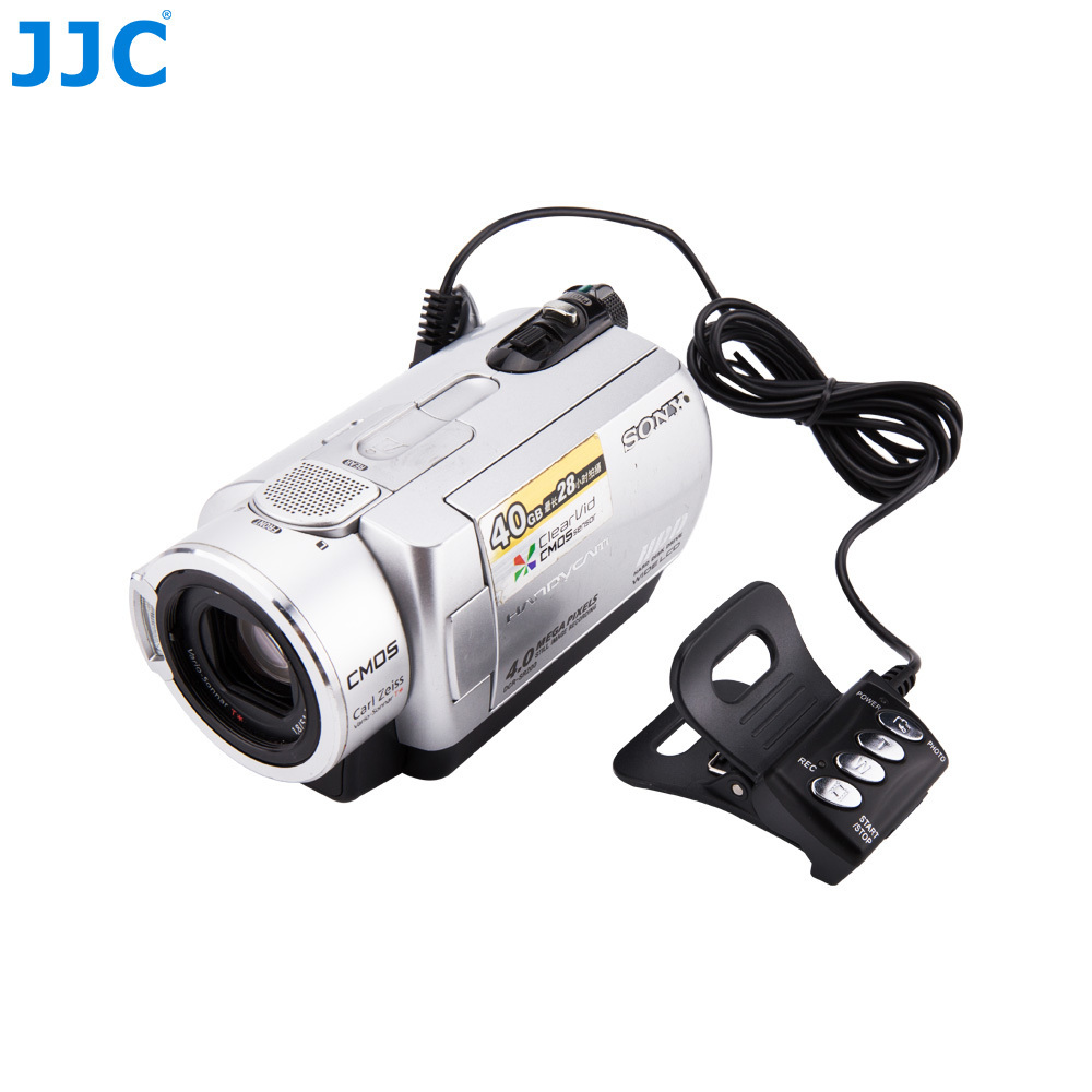 JJC DV Remote Control Photograph Video Controller for SONY Handycam Camcorders with LANC or ACC Connector Replaces RM-VD1