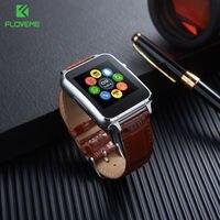 FLOVEME Smart Watch Men Fashion Women Android Smartwatch SIM Card Bluetooth Leather Wristband Wearable Devices Reloj