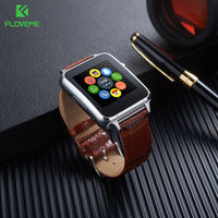FLOVEME Smart Watch Men Fashion Women Android Smartwatch SIM Card Bluetooth Leather Wristband Wearable Devices Reloj