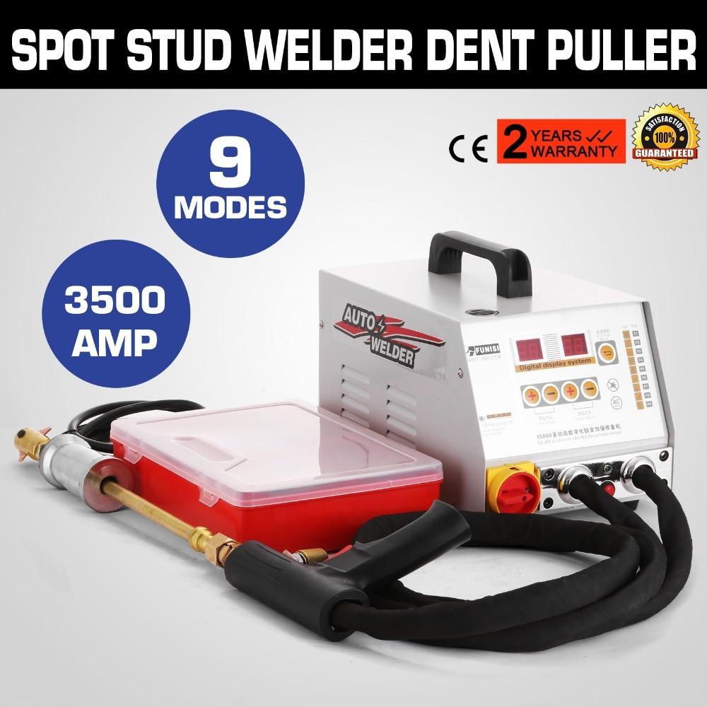 Multifunctional Vehicle Panel Spot Dent Puller Multispot Bonnet Door Repair Weld