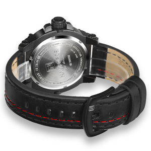 Image 5 - NAVIFORCE montre bracelet de Sport pour hommes, marque supérieure de luxe, en cuir étanche, à Quartz, style militaire, nouvelle collection 2020