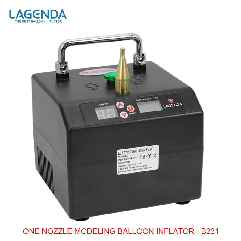 B231 Professionale di Controllo Della Batteria Palloncino Infltor Elettrico Pompa A Palloncino per Torsione Palloncini