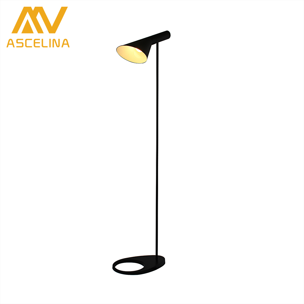led Floor Lamp ASCELINA Nordic Modern Minimalist Decorative floor lamps Standing Lamp Adjustable Lampshade living room bedroom trazos modern simple living room floor lamp floor lamp modern minimalist bedroom floor lamp vertical nordic creative led lamps