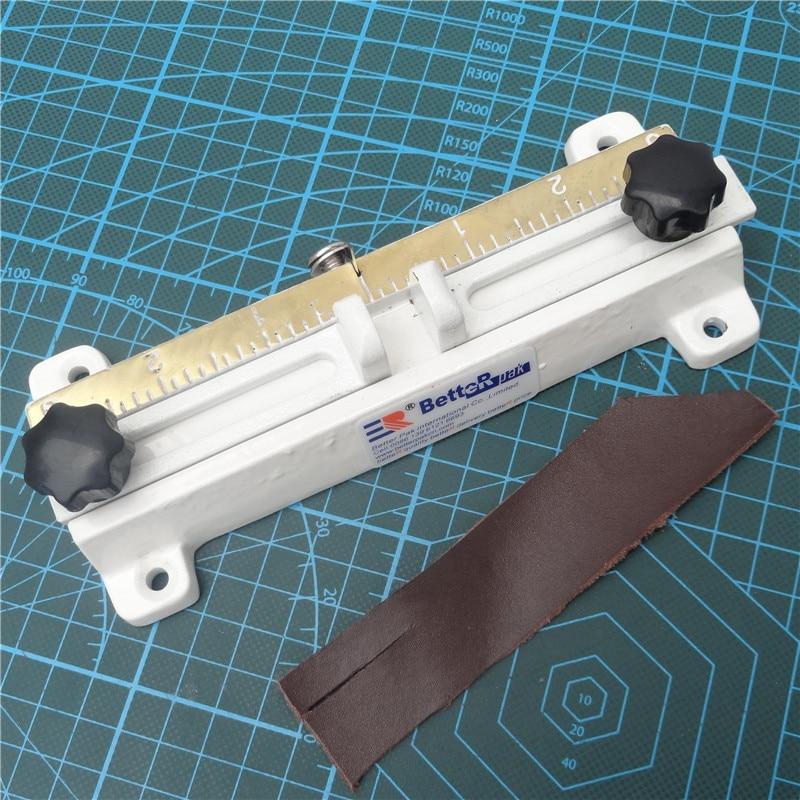 808 Leather splitter font b knife b font leather paring device kit leather skiver belt cutting