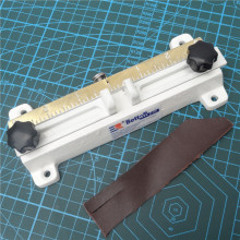 808 Leather splitter knife,leather paring device kit,leather skiver,belt cutting machine(structure in full brass)