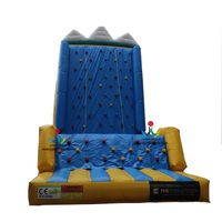Children playground sports equipment inflatable climbing wall for sale