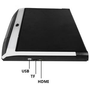 Image 4 - XST 17.3 Cal Android 8.1 Monitor samochodowy mocowanie sufitowe dach HD 1080P wideo ekran IPS WIFI/HDMI/USB/SD/FM/Bluetooth/głośnik