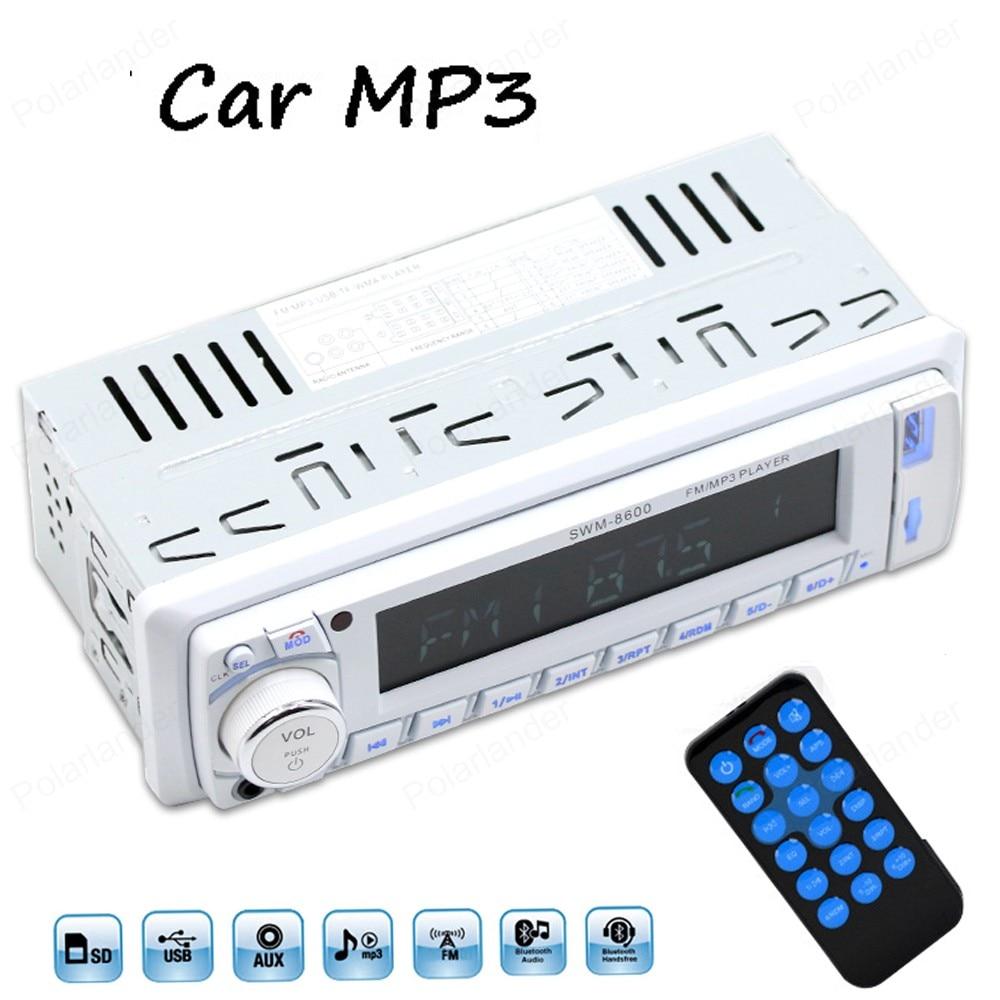 MP3 Player 12V Car tuner Stereo bluetooth font b Radio b font HiFi FM Aux audio