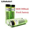2018 LiitoKala nuevo original NCR18650B 34B 3,7 V 18650, 3400 mAh batería de litio recargable, batería de linterna