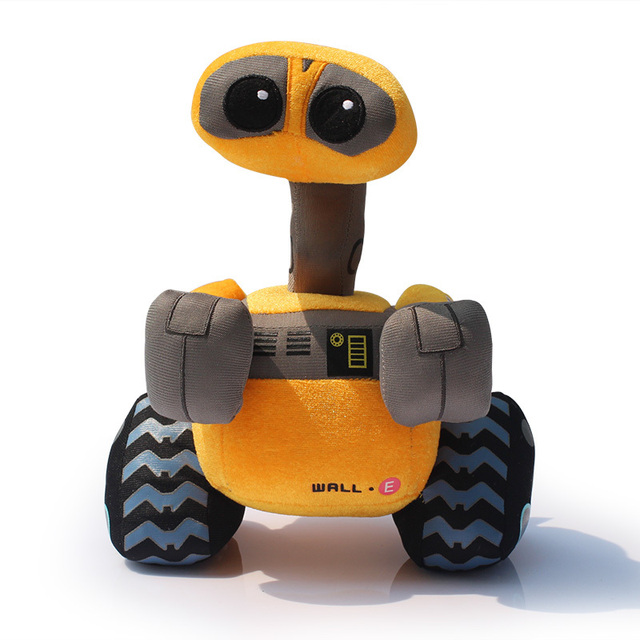 wall e walle 10 6 27cm robot plush toys wall e stuffed doll free