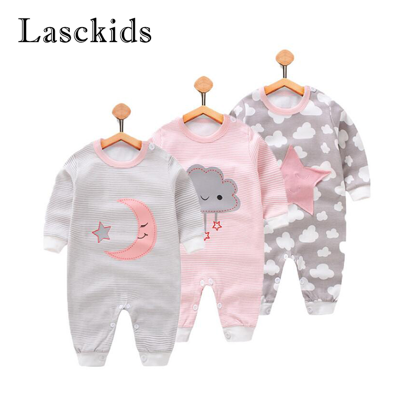 Newborn Baby Rompers for Baby Girls Boys Clothes Cartoon Infant Boy Girl Rompers Summer Autumn Roupas