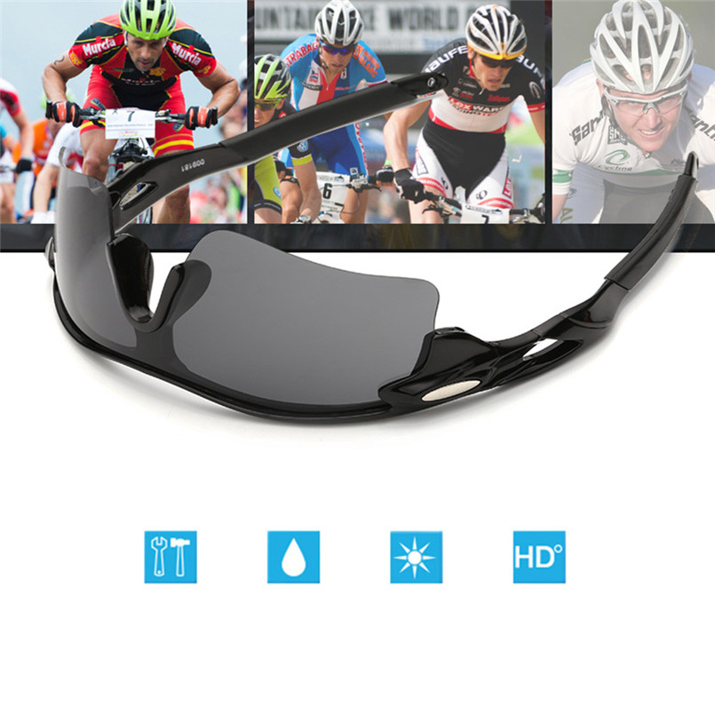 2017 new Outdoor Sport Cycling Bicycle Bike Riding Sun Glasses Eyewear Goggle UV400 Lens camping hiking