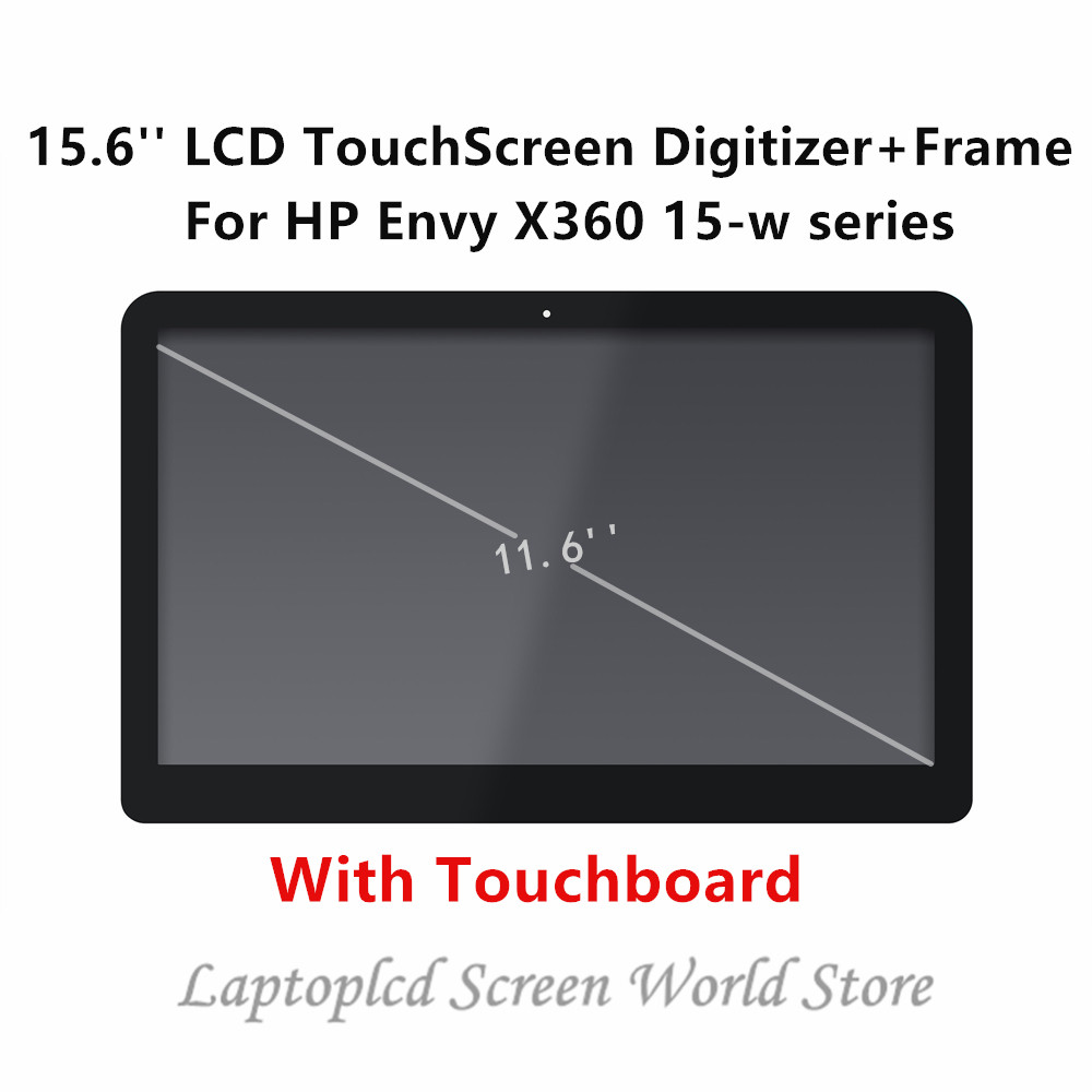 Ftdlcd 15.6 Fhd Led Lcd Touch Screen Digitizer Assembly+bezel For Hp Envy X360 15m-bqxxxxx 15m-bq000 15m-bq100 15m-bq021dx Computer & Office