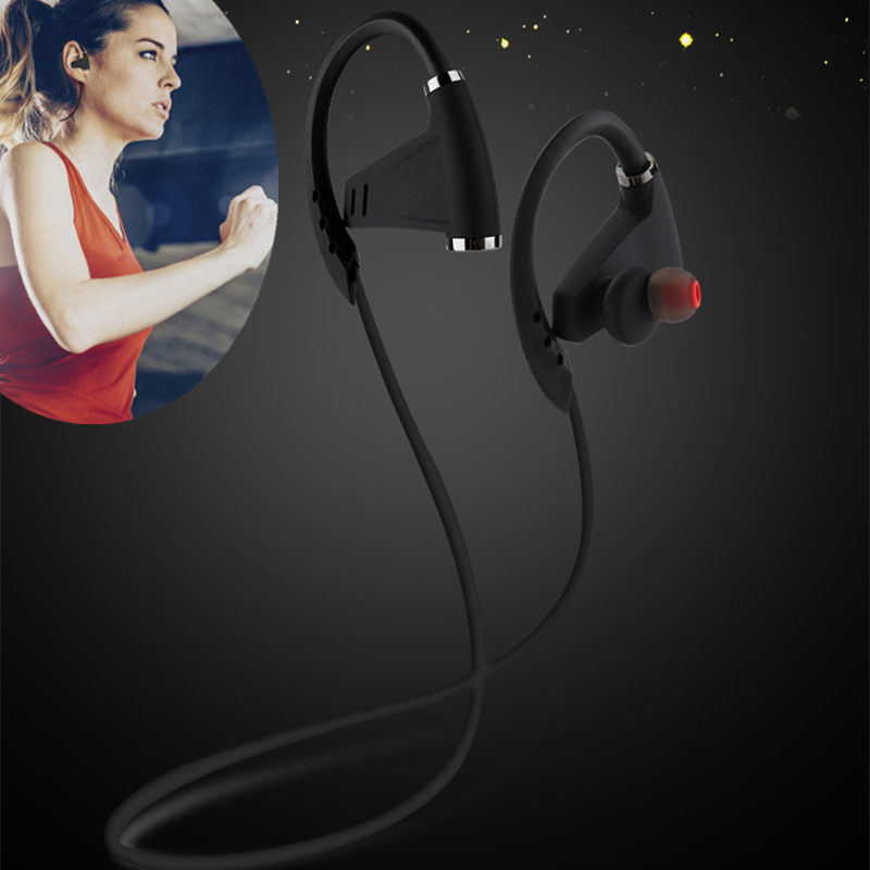 OLLLY Bluetooth Headphones, Wireless Headset V4.1 Heavy Bass Stereo In Ear Earbuds Noise Isolating Sports Earphones with Mic admi headphones dual drivers dynamic wired music headset with mic bass sports in ear earphones noise earbuds auricolari ecouteur