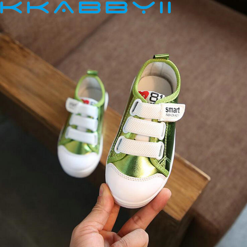 Children Shoes Girls Soft Fashion Sneakers Spring Autumn Breathable Style Kids Flat Causal Shoes 4 Colors