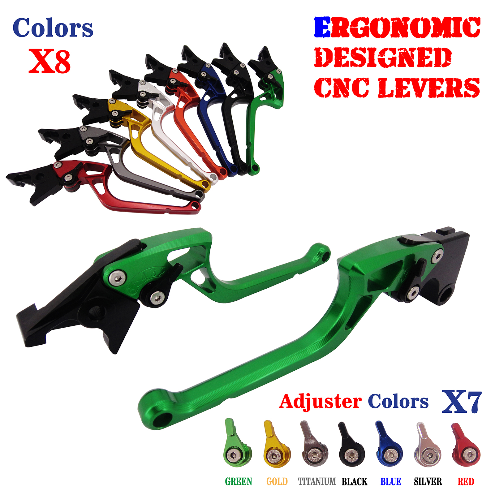 Ergonomic Adjustable Brake Clutch Levers For Aprilia Moto Guzzi Norge1200/GT8V 2006-2015 adjustable cnc aluminum clutch brake levers with regulators for moto guzzi breva 1100 2006 2012 1200 sport 07 08 09 10 11 12 13