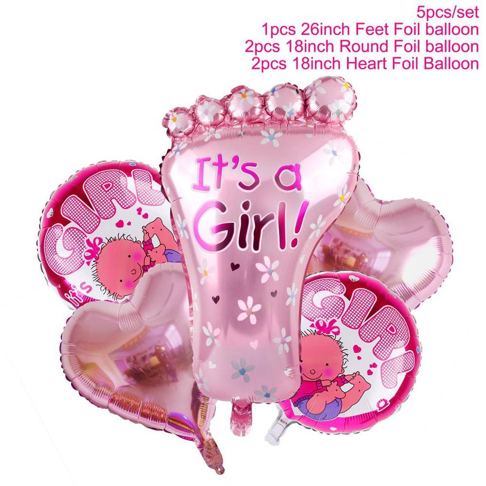 Dropwow QIFU Blue Boy 2nd Birthday Decoration Pink Girl 2
