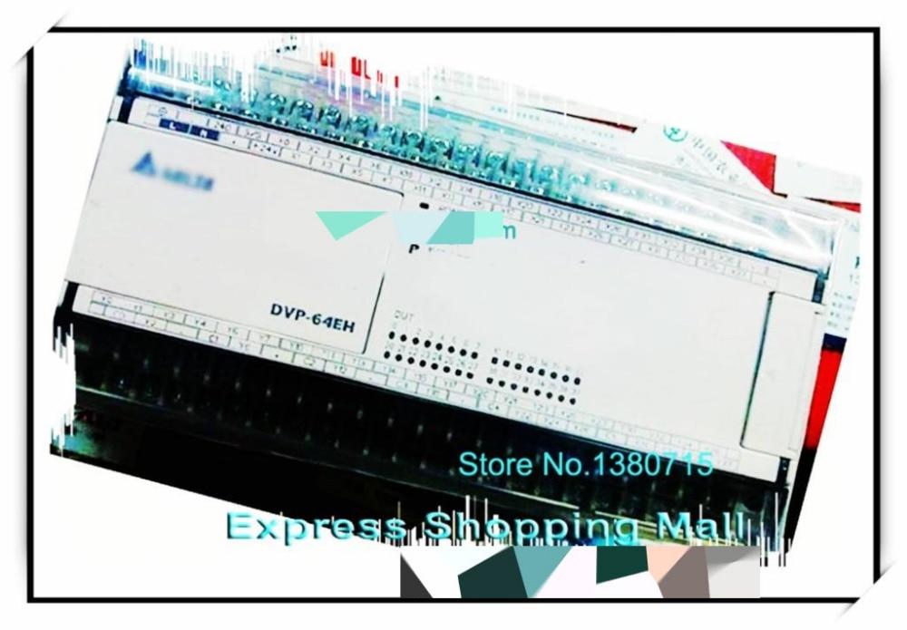 New original DVP64EH00T3 PLC EH3 series 100-240VAC 32DI 32DO Transistor output dvp32ec00t3 new original delta plc ec3 series 100 240vac 16di 16do transistor output