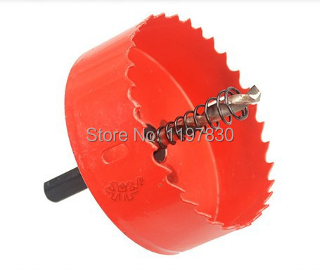 Home decoration universal hss hole saw 60mm M42 Bi-metal steel hole Saw iron wood plastic hole opener underreamer drill bits free shipping of 19mm hss metal plate opener drill bits core bits for stainles steel less 2mm and iron thin soft metal plastic